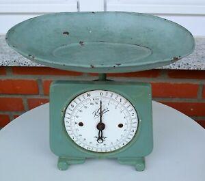 Alte Küchenwaage von Krups Guss-Eisen Original bis 10kg @unbedingt Text lesen @
