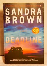 Deadline by Sandra Brown (2013, Paperback) Free Shipping New