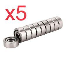5pcs X 624zz bearing 4x13x5 Mm 4*13*5 CNC 3D Impresora Envío Rápido Desde España