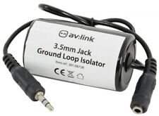 New 3.5mm Jack Ground Loop Isolator Audio Noise Filter Unwanted Hum Inductor