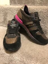 Serafini Sports Sneakers Trainers Sz. 39 Lace up Shoes Violet New