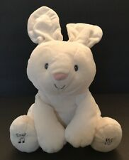 Gund Baby Flora The Bunny Peek-a-Boo Talking Singing Plush Toy  Easter