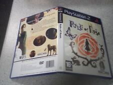 RULE OF ROSE. PS2 PAL EMPTY CASE & REPRODUCTION INLAYS ONLY..