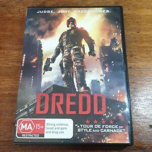 Dredd DVD R4 LIKE NEW FREE POST