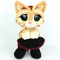 Puss in Boots plush soft toy doll Shrek Cat Talking talks Motion activated