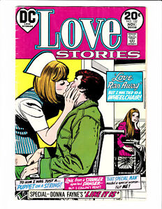 Love Stories #152 DC 1973 VG/FN 5.0 Last issue. Nurse cover by Jay Scott Pike