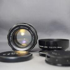 8 elements!! Asahi Opt (PENTAX) Super TAKUMAR 50mm f1.4 lens for M42 Screw mount