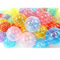 (Pack of 100) Clear Phthalate Free, Crush-Proof Pit Balls