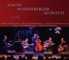 Joschi quintette schneeberger-LIVE CD NEUF
