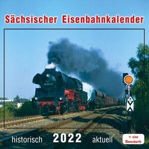 Sächsischer Eisenbahnkalender 2022, 9783965640115, Postkartenkalender