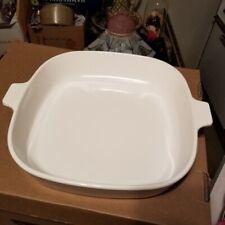Solid White Rectanglar  Baking Dish