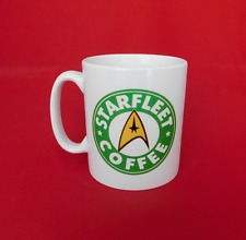 Star Trek Starfleet Starbucks Inspired Coffee Mug 10oz