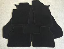 Fußmatten Kofferraumteppiche Set für Alfa Romeo 156  Sportwagon schwarz 5teilig