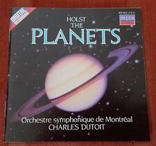HOLST - THE PLANETS [Dutoit] CD