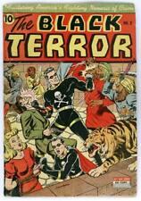 Golden Age Black Terror Comics Complete Set