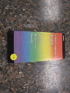 Vintage 1986 Tandy Color Computer 3 BASIC Quick Reference Guide