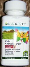 Nutrilite Kids Chewable Daily- 60 Tablets,EXP 03/2022