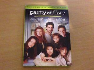 Party Of Five 5 Season 3 The Third Series Three Scott Wolf (DVD 5-Discs)Region 1