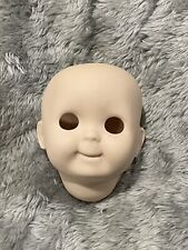 Kestner 221 Repro Veta '82 Bisque Head Unpainted Googly Face 3'' Tall
