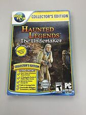 New - Haunted Legends THE UNDERTAKER COLLECTOR'S EDITION Hidden Object PC  Game