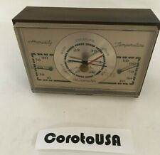 Vintage Weather Airguide Instruments Temperature, Humidity and Barometer Meter