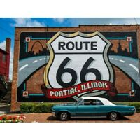 Route 66 Full Drill DIY 5D Diamond Painting Embroidery Cross Stitch Kits Gift
