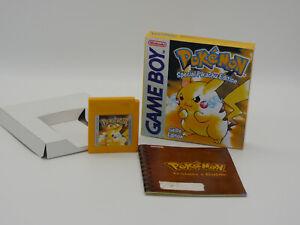 GAMEBOY- Pokemon gelbe Edition OVP