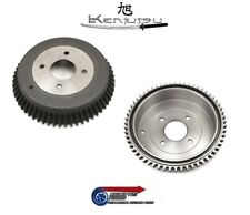 New Rare Rear Brake Drums x 2 - For Datsun S30 240Z L24