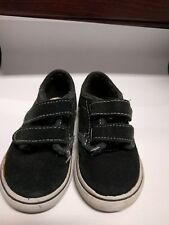 Vans Toddler Boys Size 5 Black Suede/ Canvas Shoes