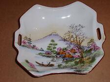 """Antique/Vintage Porcelain Decorative Bowl/Candy Dish Japanese 6"""" X 6"""""""