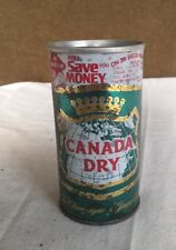 Rare Canada Dry 10oz Canadian Empty Can Value Cap Ad French Canadian