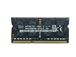 SK Hynix HMT41GS6BFR8A-RD 8GB 2Rx8 PC3L-14900 1866 1867 MHz 1.35V Laptop Memory