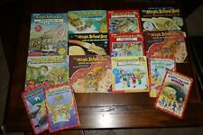 Lot of 14 Magic School Bus books ~ chapter hardcover