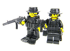 Navy Seals Special Forces Soldiers (SKU38) made with real LEGO® minifigures