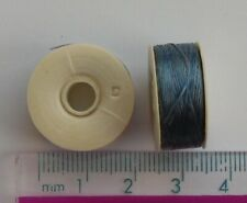 2 reels of royal blue nymo thread, thickness size 'D' (approx 64 yards per reel)
