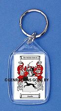JACOBS (ENGLISH) COAT OF ARMS KEY RING