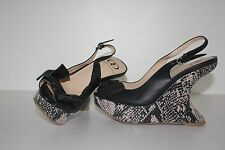 Kelsi Dagger Designer ladies Shoes High heel Wedges NWOT Size 7M R.R.P $169.00