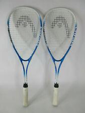 Lot of 2 Head Ventoris Nano Titanium Squash Racquets