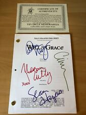 Will & Grace Script handsigned signé