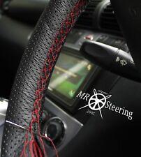 Pour Mercedes Vito 1 96-03 noir perforé Volant en cuir couverture Gris ST