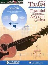 TRAUM ESSENTIAL CHORDS AND   PROGRESSIONS FOR ACOUSTIC    GUITAR BK/CD - Good -