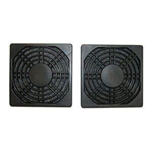 Masscool 120mm ABS Plastic Foam Fan Filter - 2-Pac NEW/SEALED