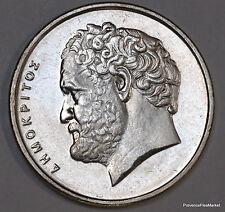 10 DRACHMES DRACHMAI Drachma 1998 GRECE GREECE issue d un rouleau NEUF ge03
