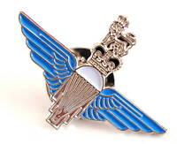 PARA REGIMENT ENAMEL PIN official blue enamel metal wings crown beret cap badge