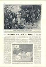 1914 German Wireless Situation In Africa Major Eb Steel Hh Norman Jm Bruce