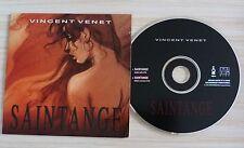 CD SINGLE 2 TITRES PROMO VINCENT VENET SAINTANGE
