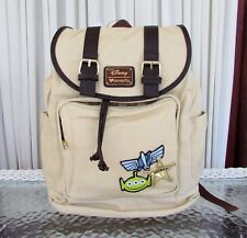 Disney Loungefly Pixar Toy Story Mixed Patches Slouch Backpack Travel Bag NWT