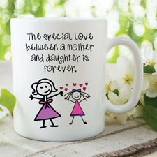 Mother And Daughter Mug Special Love Forever Birthday Coffee Cups 11oz WSDMUG552