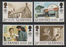 Guernsey - 1990, Europa, Post Office Buildings set - MNH - SG 486/9