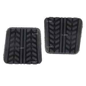 2x Brake Clutch Pedal Pad For MAZDA 323 929 B2000 B2200 B2500 B-er BT-50 MX6 RX7